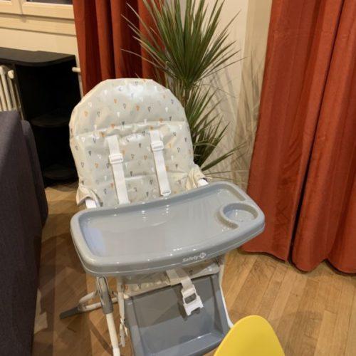 Chaise pour bébé, gîte les magnolias près du parc de Beauval